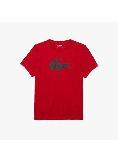 Lacoste Erkek Sport Tişört TH2042.GF9 Kırmızı